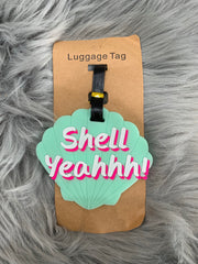 Luggage Tag - Shell Yeahh
