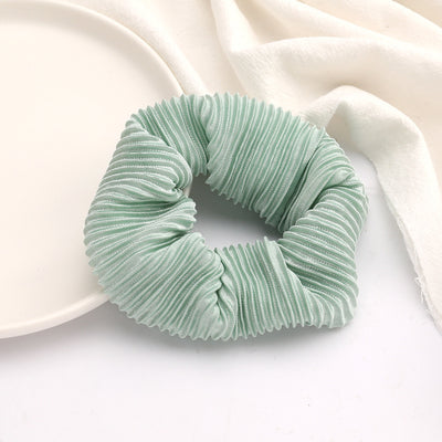 Pleated Scrunchie - Green
