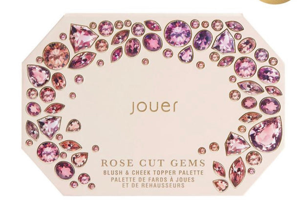 Rose Cut Gems Blush & Cheek Topper Palette