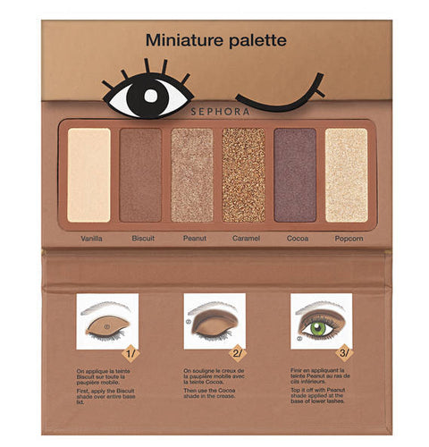 SEPHORA COLLECTION Miniature Palette - Cookie Shades Collection