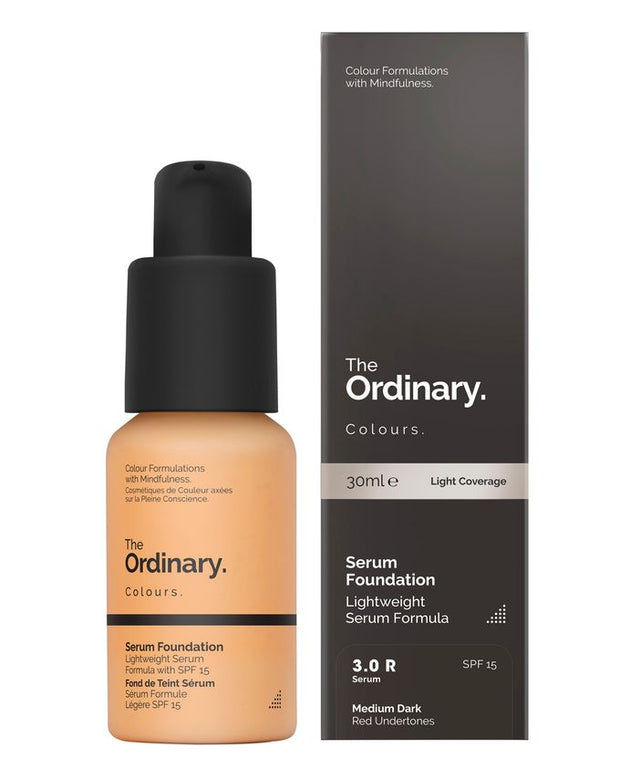 THE ORDINARY Serum Foundation( 30ml ) - 3.0 R Medium Dark