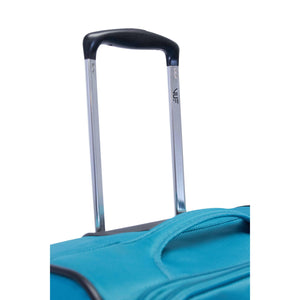 VUE TOURING LTE 22 INCH PREMIUM CARRY ON LUGGAGE TEAL