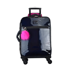 VUE Metallic Collection PREMIUM CARRY ON 3pc set LUGGAGE BLACK