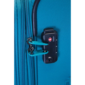 VUE TOURING LTE 3 PIECE PREMIUM LUGGAGE SET TEAL