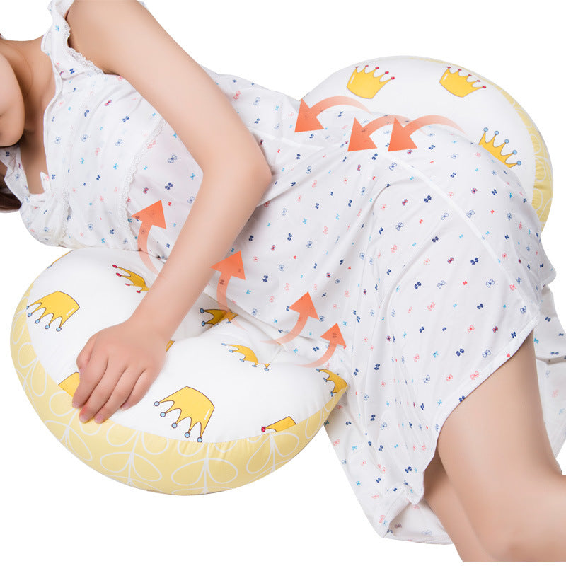 SUPPORTING PILLOW FOR PREGNANT WOMEN