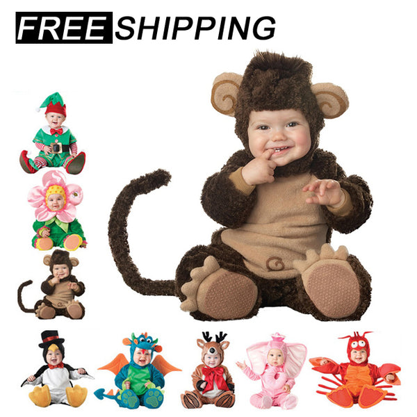 Baby Romper Animal Costume