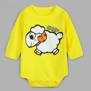 Cute Sheep Romper