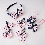 7 Pieces/set Baby Headband with Bows and Flowers