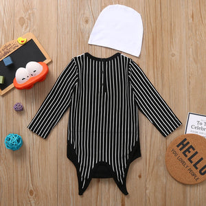 Spooky Striped Jumpsuit