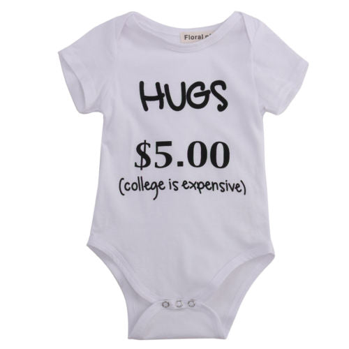 Hugs $5 College is Expensive Romper