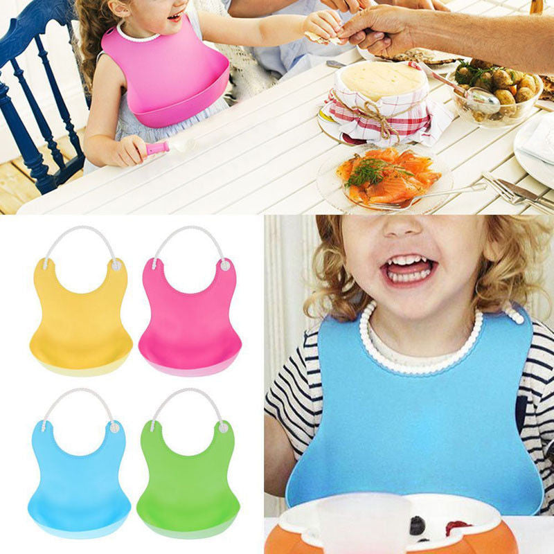Silicone Bibs for Toddlers