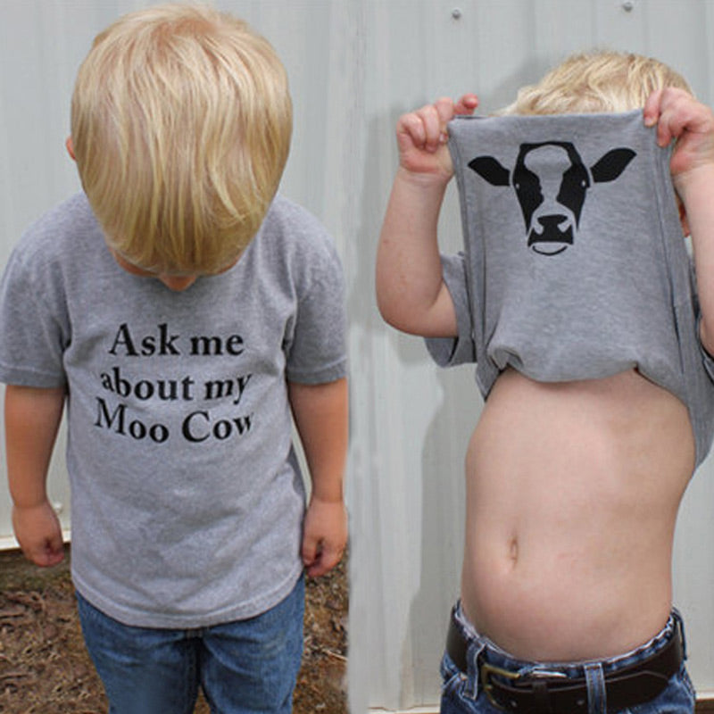 Ask me about My Moo T-Shirt