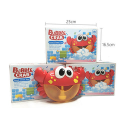 Bubble Crab Bubble Maker Baby Bath Bubble Blower