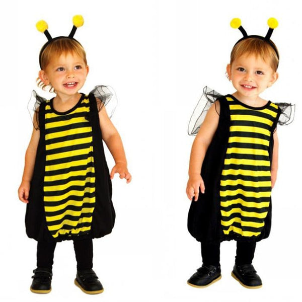 Happy Bee Halloween costumes for girls