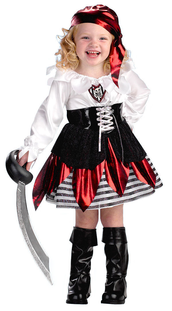Halloween pirate costume for girls