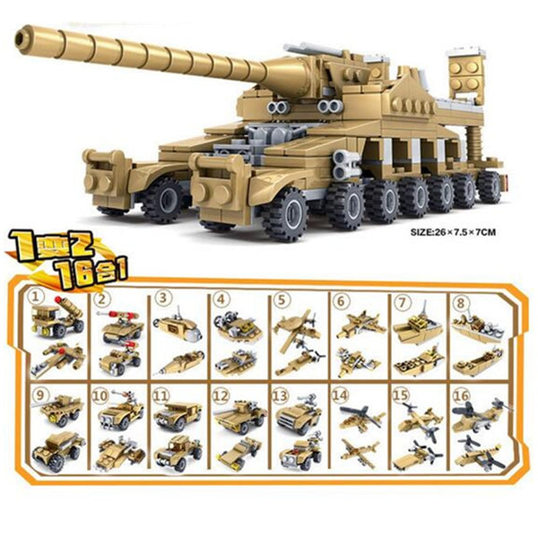 Army Series Building Toy