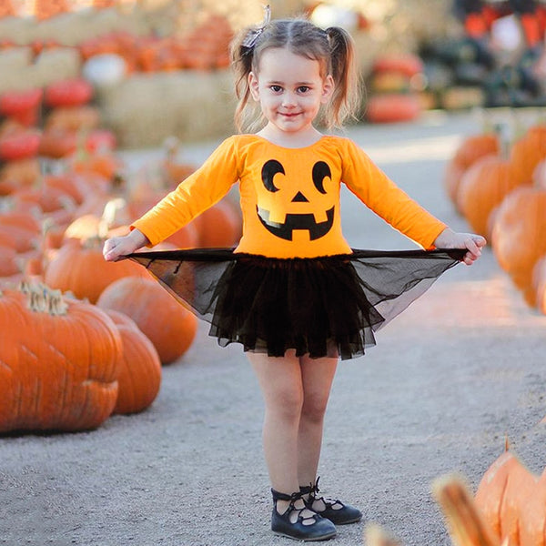 Halloween Baby Girls Romper Dress