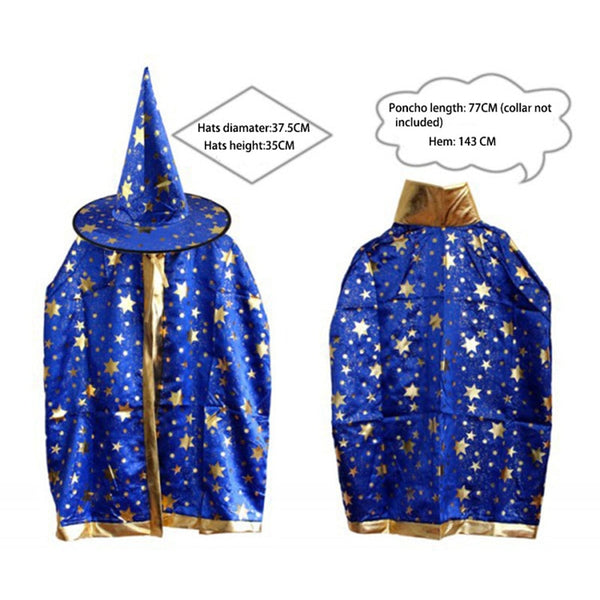 Hallowmas Poncho Cloak and Hat costume