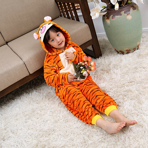 Tiger Cosplay Sleepwear Halloween Costumes