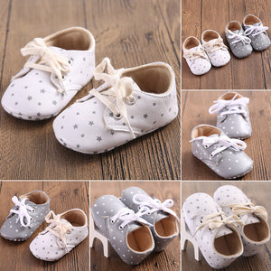 Newborn Baby Soft Sole Crib Shoes Summer 2018 New Infant Boy Girl Toddler Casual Anti-Slip Soft Shoes