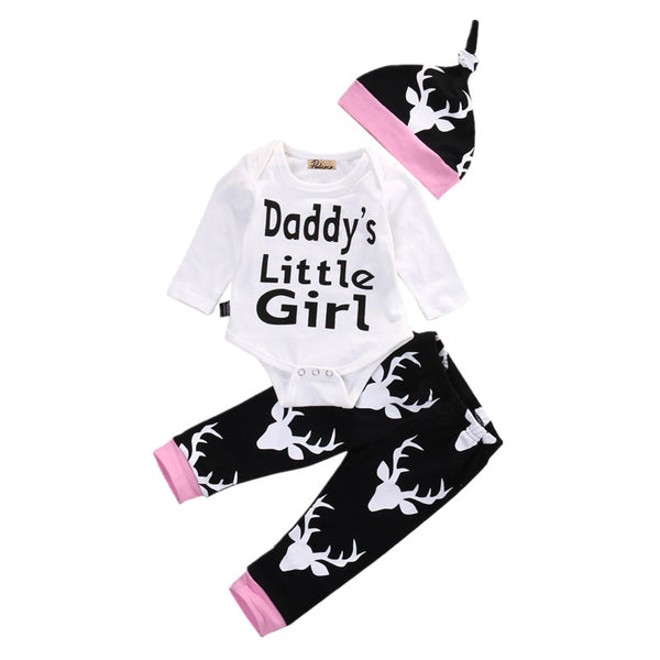 Daddy's Little Girl Long Sleeves Romper