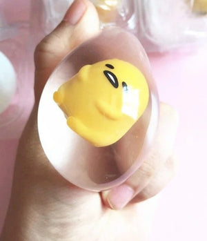Unbreakable Transparent Eggs Squeeze Toy