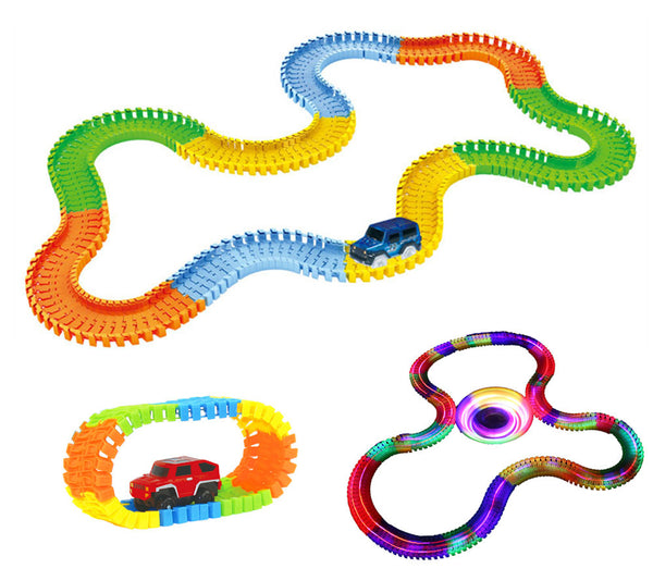 Miracle Glowing Toy Racing Track Set