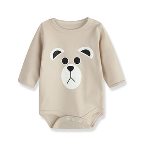 Adorable Bear Baby Romper