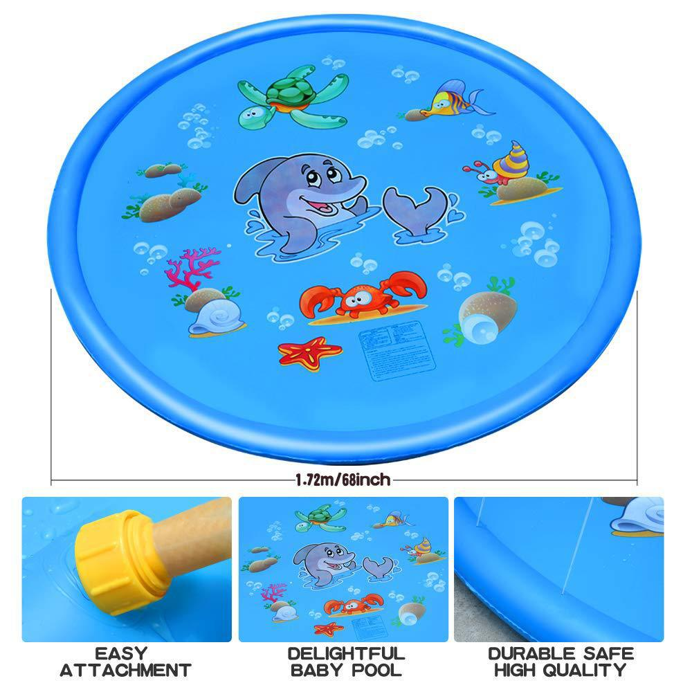 Inflatable Sprinkler Water Play Mat