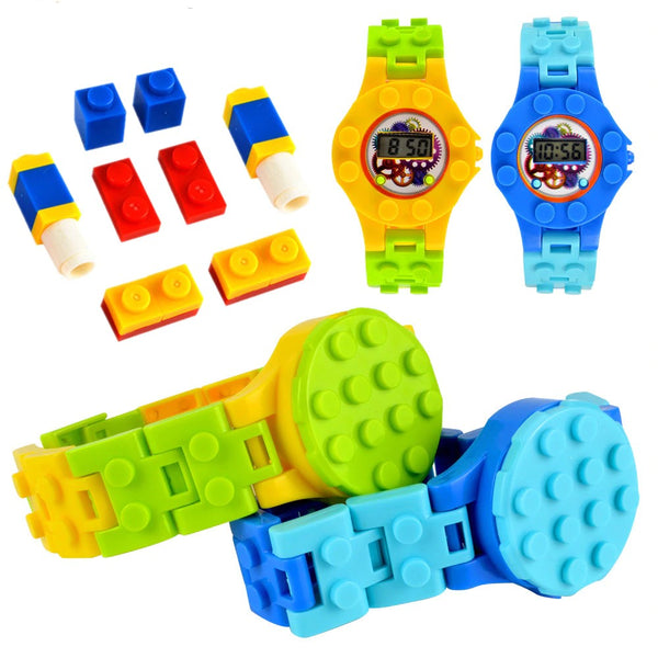 Brick Base Digital Watch