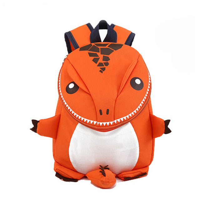3D Dinosaur Cute Backpack For Children