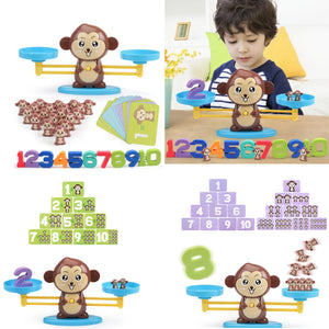 Monkey Balance Math Game