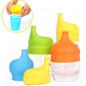 Spill Proof Sippy Lids (Pack of 4)