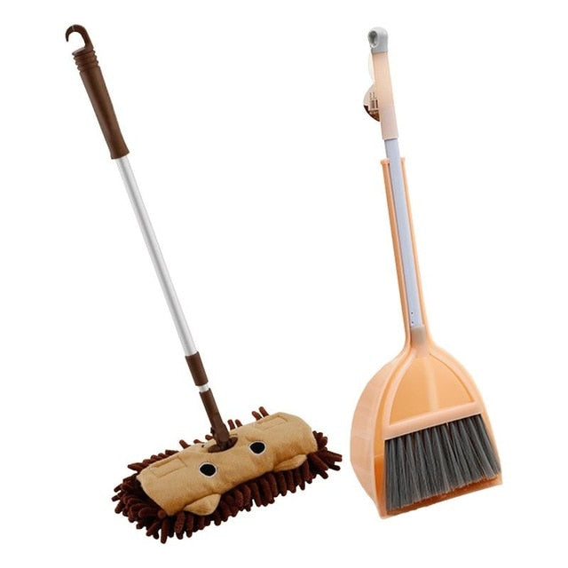 Baby Mop Broom Set