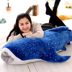 Large Whale Plush Toy