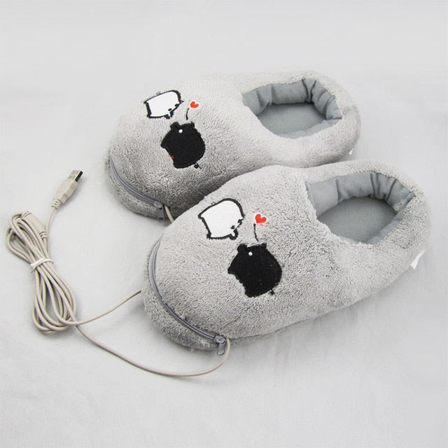 USB Warm Feet Baby Shoes