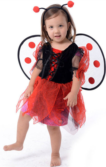 Ladybug fairy Halloween costumes for girls