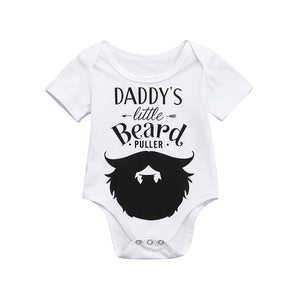 Daddy's Little Beard Puller Onesie
