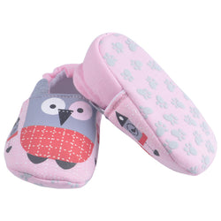 Beautiful Pink Owl Shoes