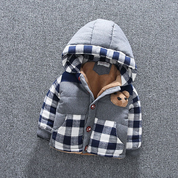 Winter Hooded Infant Jackets