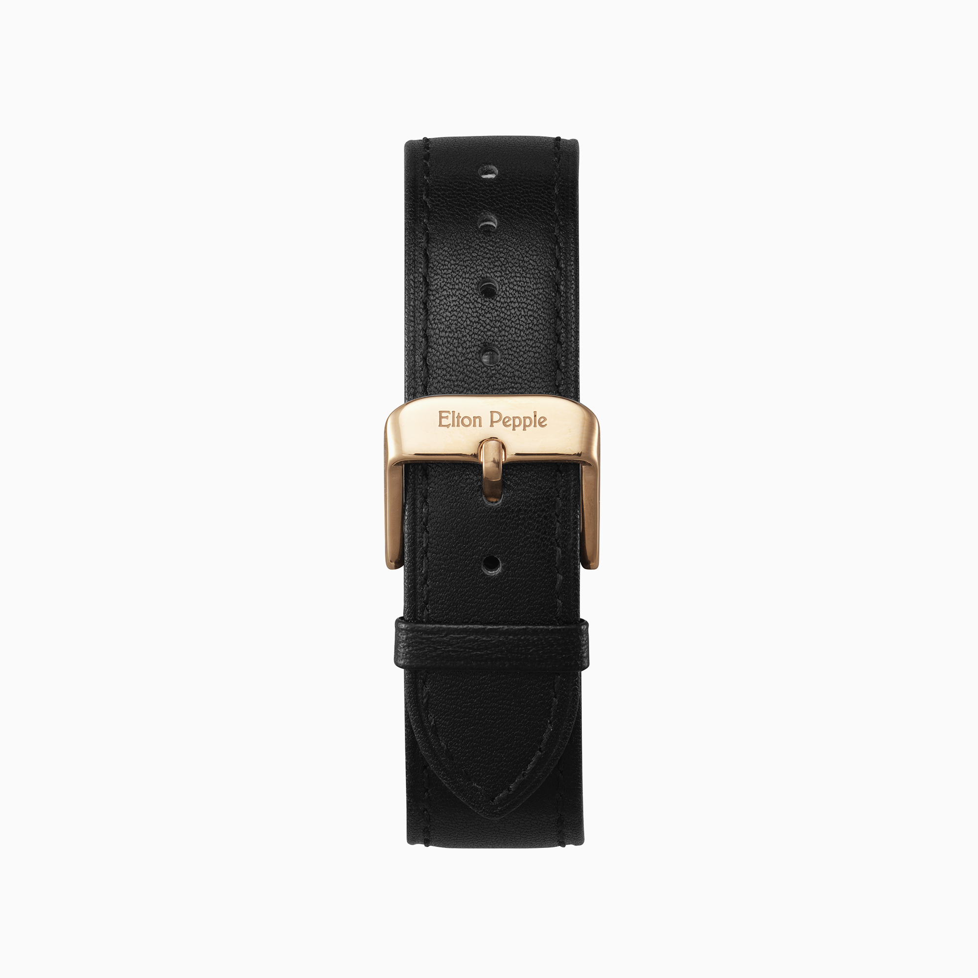 Bucktown - Rose Gold leather strap
