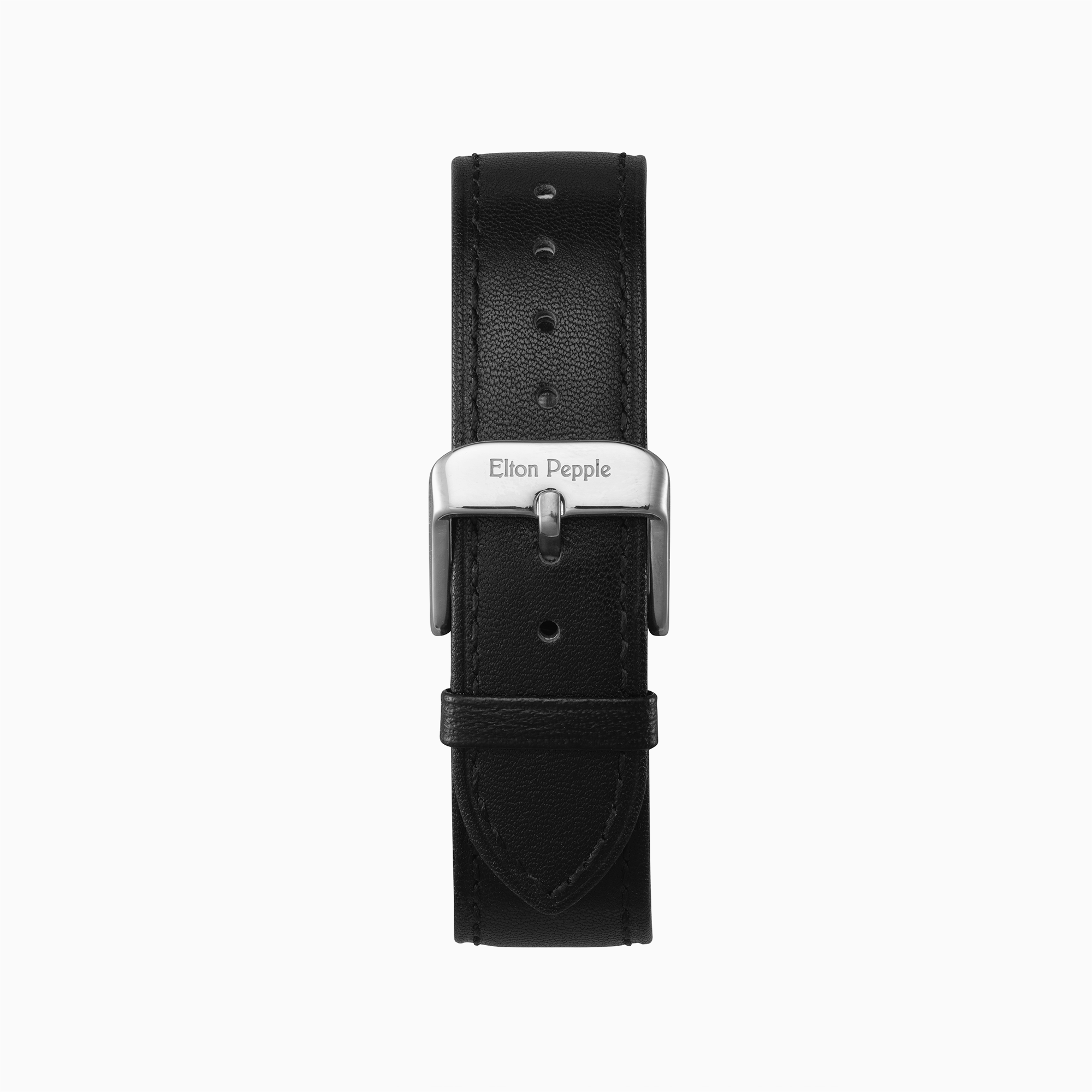 Bucktown - Silver leather strap