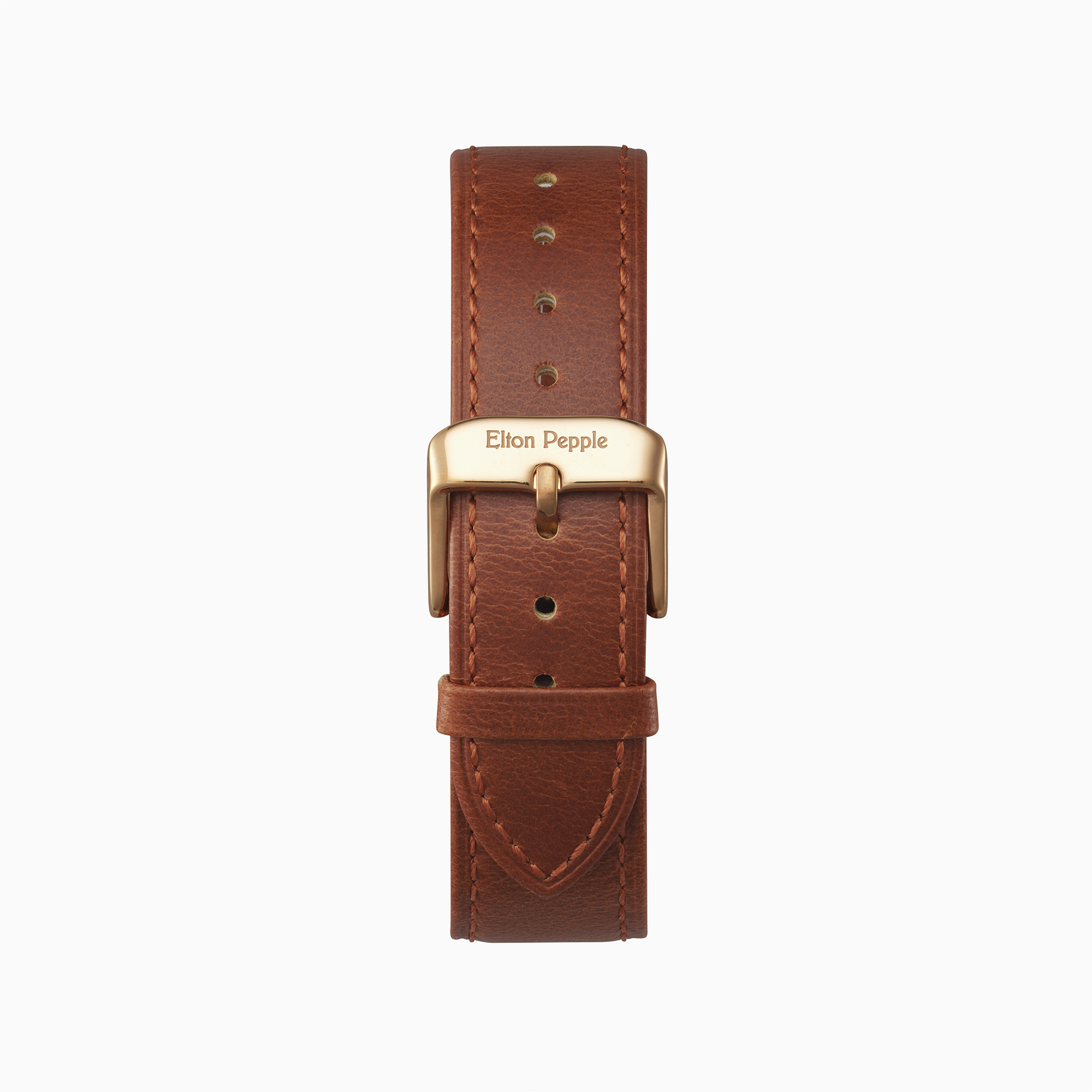 Edgewater - Rose Gold leather strap