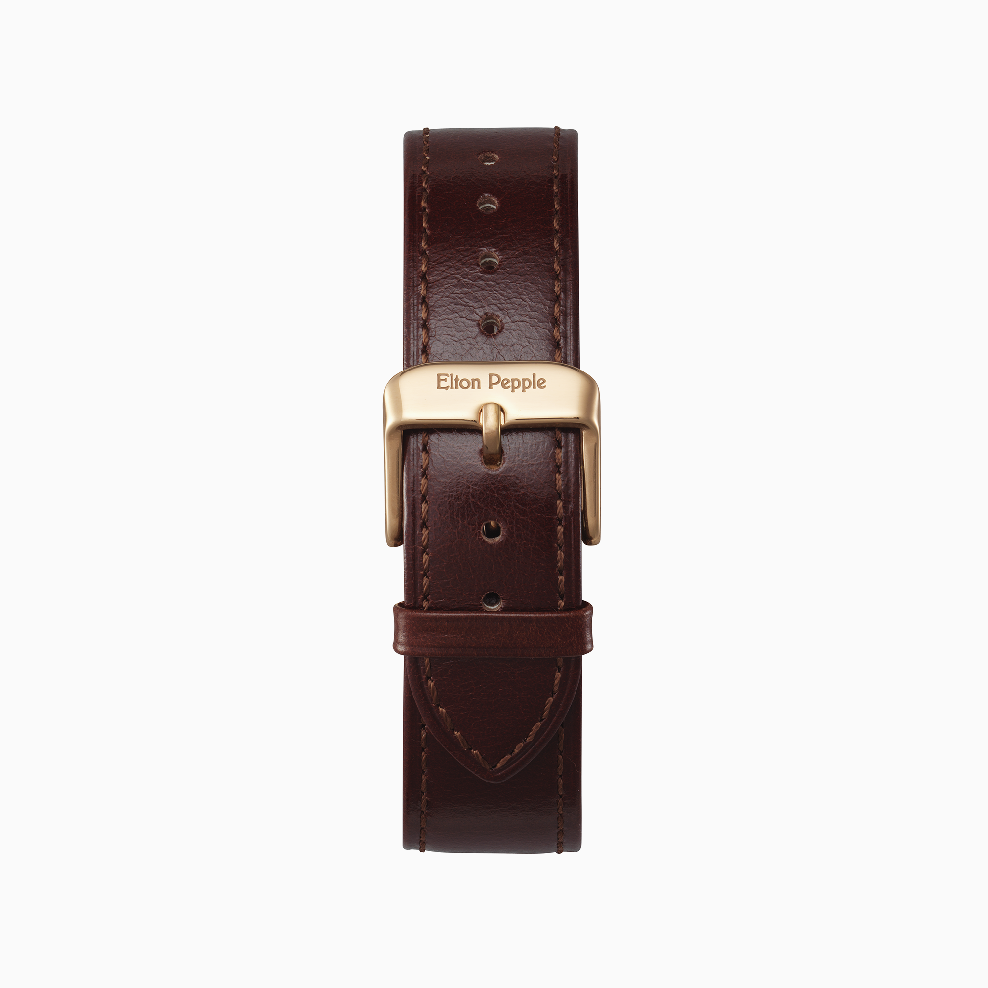 Loop - Rose Gold leather strap