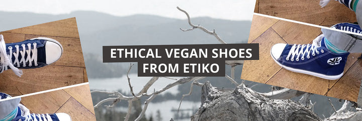 Ethical vegan shoes from Etiko