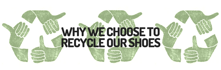 For the benefit of the planet, we want your old shoes!