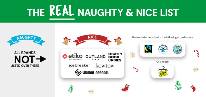 The real Naughty and Nice list by Nicole Lutz