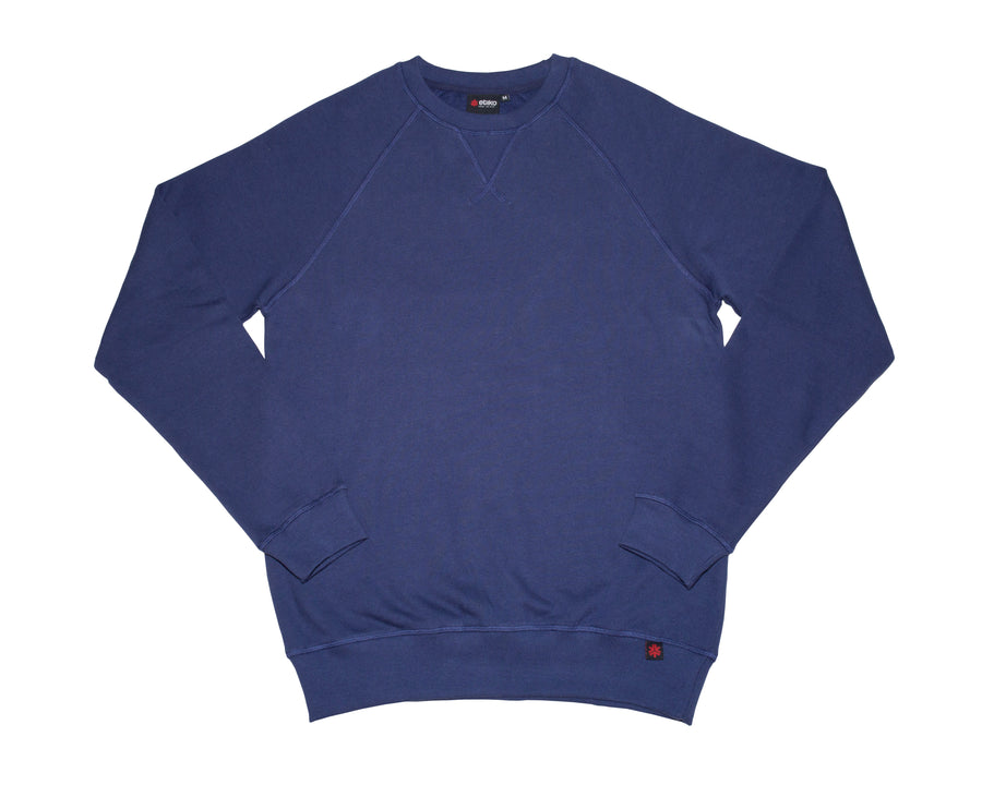 Unisex Navy Crew Neck Organic Fairtrade