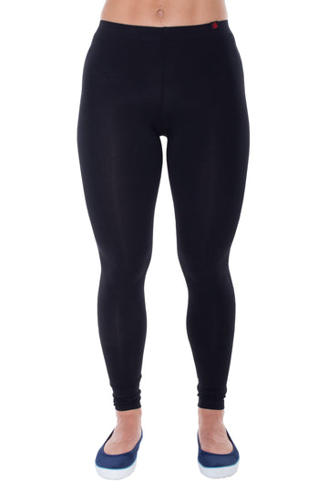 Women's Leggings Full Length Black Etiko