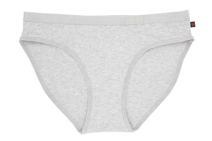 Bikini, Heather Grey, Organic & Fairtrade
